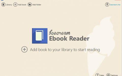Icecream Ebook Reader Pro 5.20 Multilingual 电子书阅读器