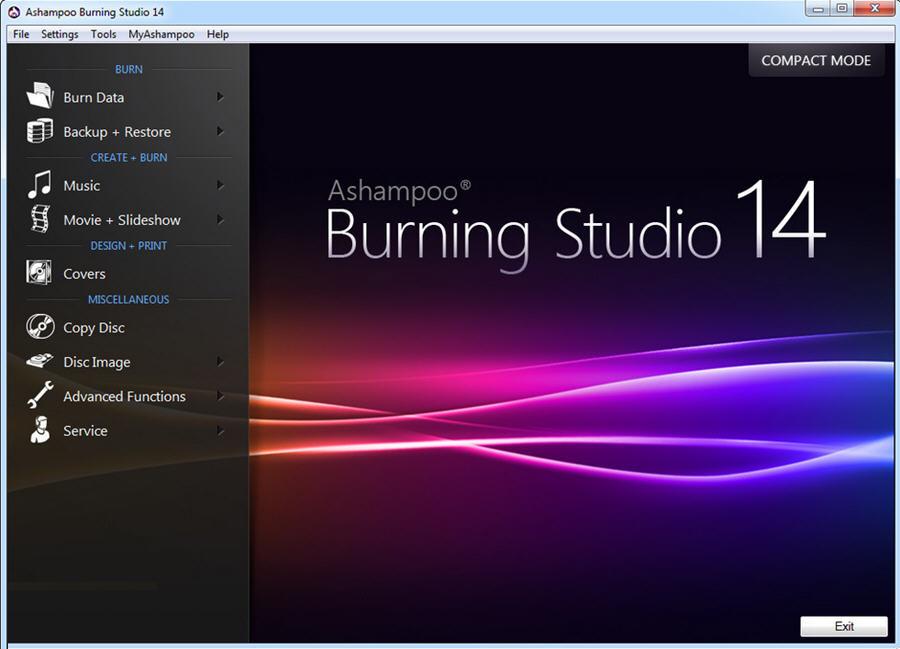 Ashampoo Burning Studio 21.6.1.63 Multilingual 光盘烧录软件